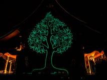 Wat诗琳通Wararam, Ubonratchathani 泰国 库存照片