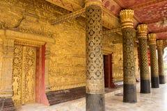 Wat邮件在琅勃拉邦 库存图片