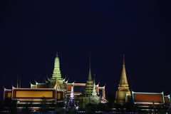 Wat μεγάλο παλάτι ναών pra kaew δημόσιο, Μπανγκόκ Ταϊλάνδη Στοκ φωτογραφίες με δικαίωμα ελεύθερης χρήσης
