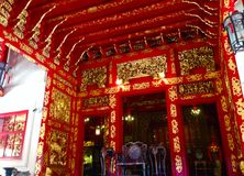 Wat ταϊλανδικό Praratchawang Bangprain Στοκ Εικόνες