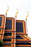wat виска крыши phra дворца kaew bangkok грандиозное Стоковая Фотография RF