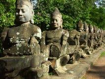 wat виска angkor стоковое фото