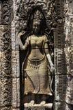 wat висков bayon angkor Стоковое фото RF