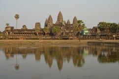 wat Камбоджи angkor Стоковые Изображения