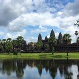 wat Камбоджи angkor стоковая фотография