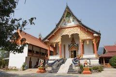 Wat которое, Vang Vieng, Лаос Стоковое фото RF