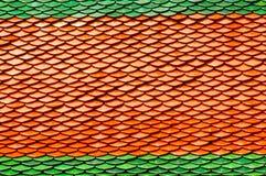 wat плиток крыши phra kaew Стоковая Фотография RF