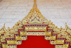 wat предмета искусства d тайское Стоковое Изображение