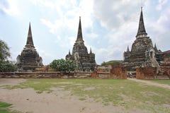 wat Таиланда виска si sanphet phra ayutthaya Стоковое Изображение