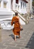 wat Таиланда монаха bowornniwet bangkok Стоковые Изображения RF