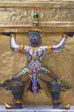 wat Таиланда phra kaew bangkok гигантское Стоковое фото RF