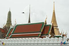 wat Таиланда phra kaew bangkok стоковое изображение