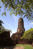 wat Таиланда praram ayutthaya Стоковые Изображения