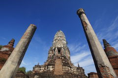 wat Таиланда ratchaburana ayutthaya Стоковое Фото