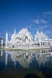 wat Таиланда rong khun Стоковое Изображение RF