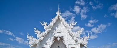wat Таиланда rong khun Стоковое Изображение
