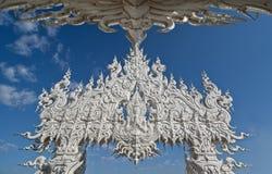 wat Таиланда rong khun Стоковая Фотография