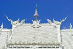 wat Таиланда rong khun Стоковое Фото