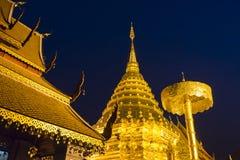 wat Таиланда suthep phrathat mai doi chiang Стоковая Фотография RF