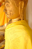 wat Таиланда статуи pra s музея головки крупного плана Будды bronathatchaiya национальное Стоковое Изображение RF