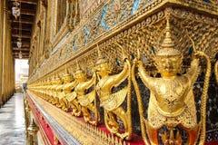 wat Таиланда виска статуи phra kaew garuda bangkok Будды изумрудное Стоковое Фото