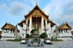 Wat素他或Wat素他Thep Wararam,曼谷,泰国。 库存图片
