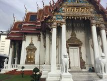 Wat Amarin Temple, Bangkok images stock