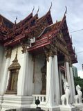Wat Amarin Temple, Bangkok photo stock