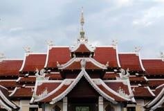 Wat Analyo Thipayaram, Phayao, северный Таиланд стоковое изображение rf