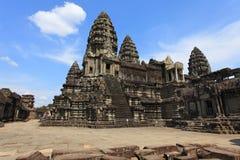 Wat Angkor, Камбоджа Стоковые Изображения