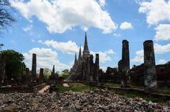 Wat antique en Thaïlande Photographie stock libre de droits