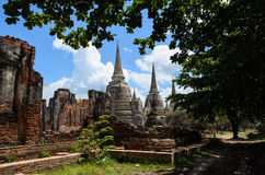 Wat antique en Thaïlande Image stock