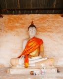 Wat Aranyikawat Ratchaburi, Thailand Royaltyfri Fotografi