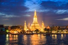 Wat Aroon, Bangkok ,Thailand. Wat Aroon after sunset ,Bangkok ,Thailand Royalty Free Stock Photo