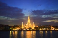 Wat Aroon, Bangkok ,Thailand. Wat Aroon after sunset ,Bangkok ,Thailand Royalty Free Stock Image