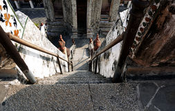 Wat Arum Temple stairs Stock Photos