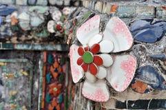 从Wat Arun寺庙的细节 免版税库存图片