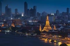 Wat Arun寺庙 库存图片