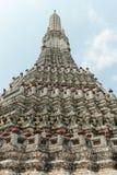 Wat arun,晓寺,曼谷泰国 免版税库存图片