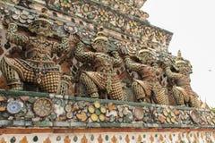Wat arun,晓寺,曼谷泰国 免版税库存照片