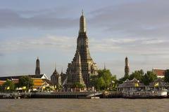 Wat Arun świątynia świt Obraz Stock