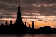 Wat Arun ή ο ναός της αυγής Στοκ φωτογραφίες με δικαίωμα ελεύθερης χρήσης