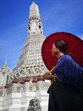 Wat Arun, ναός της Dawn, Ταϊλάνδη στοκ εικόνα με δικαίωμα ελεύθερης χρήσης
