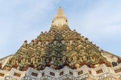 Wat Arun, ναός της Dawn prang, chedi Στοκ Φωτογραφία