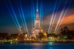 Wat Arun & x28 Ναός dawn& x29  στη Μπανγκόκ Στοκ Φωτογραφία