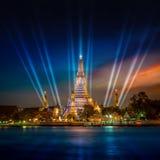 Wat Arun & x28 Ναός dawn& x29  στη Μπανγκόκ Στοκ εικόνες με δικαίωμα ελεύθερης χρήσης