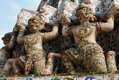Wat Arun - ο ναός της Dawn, Μπανγκόκ Στοκ Εικόνες