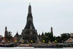 Wat Arun - ο ναός της Dawn, Μπανγκόκ Στοκ Εικόνα