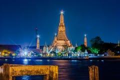 Wat Arun, ο ναός της Dawn, Μπανγκόκ, Thailandia. Στοκ Φωτογραφία