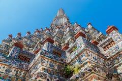 Wat Arun - ο ναός της Dawn στη Μπανγκόκ Στοκ Φωτογραφία